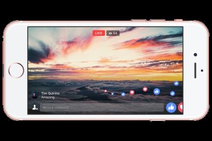 Facebook Live เริ่มเปิดใช้งานไลฟ์วิดีโอแบบเต็มหน้าจอ