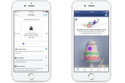 Facebook เพิ่มฟีเจอร์สร้างวิดีโอสำเร็จรูปสำหรับงานวันเกิด