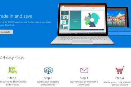 Microsoft พร้อมจ่าย...แค่คุณเลิกใช้ Macbook