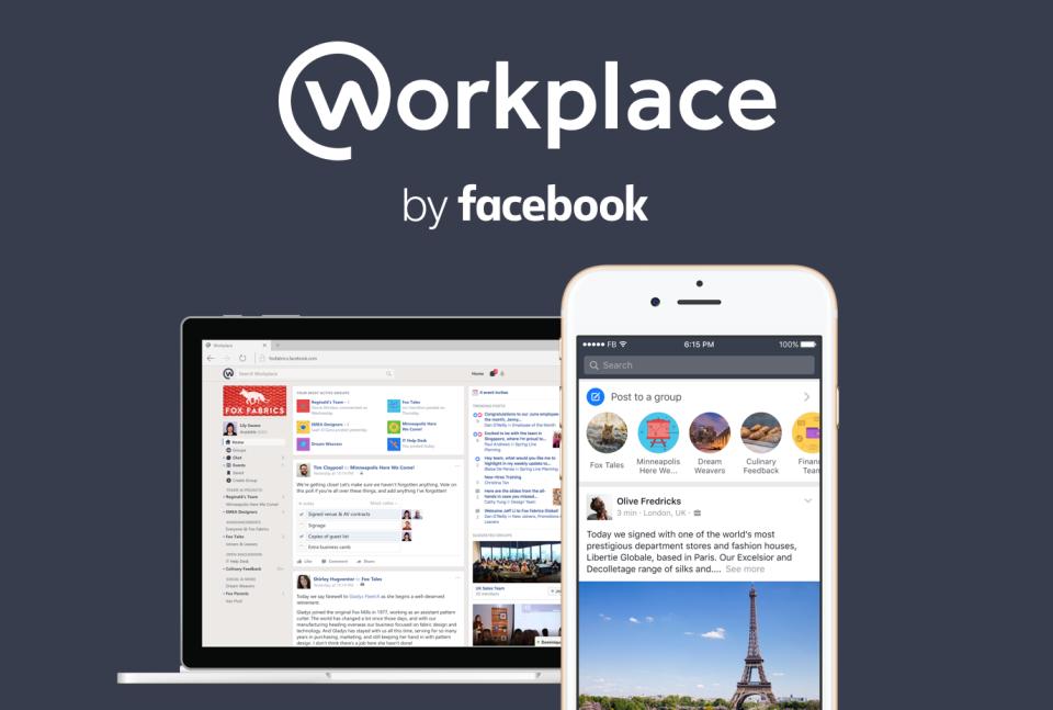 หรือนี่จะคืออวสานของอีเมล? Facebook พร้อมบุกตลาดออฟฟิศเปิดตัว Workplace