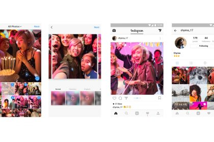 Instagram ลงหลายรูป