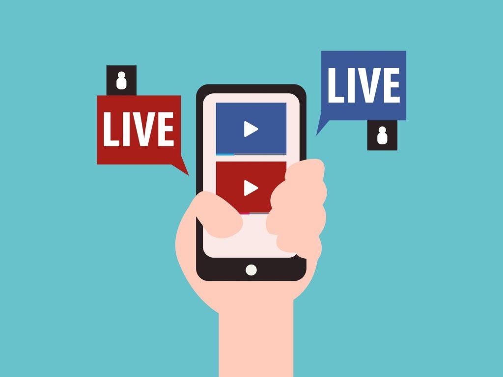 facebook live โฆษณา