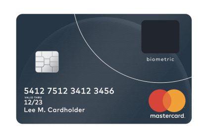 บัตรเครดิต Mastercard รุ่นใหม่มาพร้อมที่สแกนนิ้วในตัว