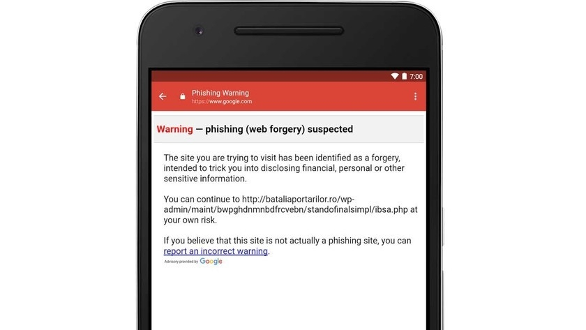 อีเมล phishing
