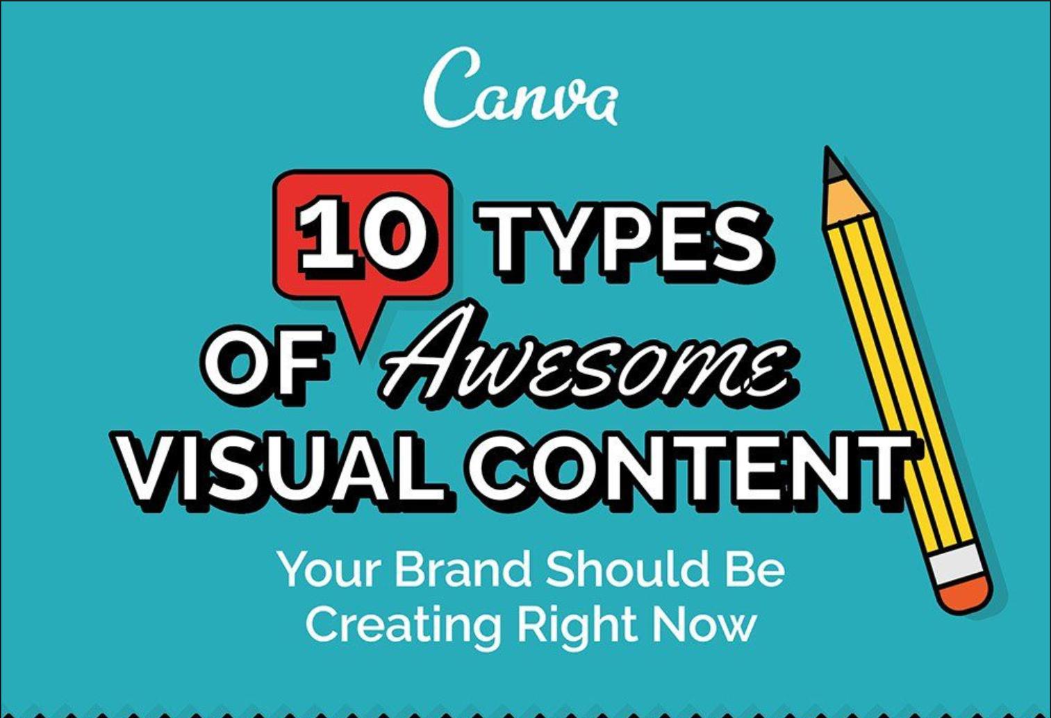 10 ไอเดียสุดเจ๋งในการทำ Visual Content (Infographic) ให้บูมม!