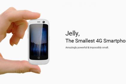 Jelly สมาร์ทโฟนจิ๋วที่สุดในโลกที่รัน Android Nougat!