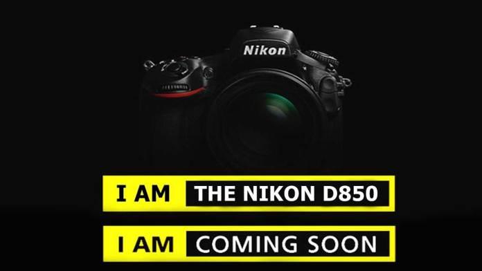 Coming Soon!!! เตรียมเปิดตัวกล้อง Nikon D850 ออกใหม่ล่าสุดเร็วๆนี้