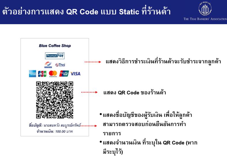 QR Code รับเงิน