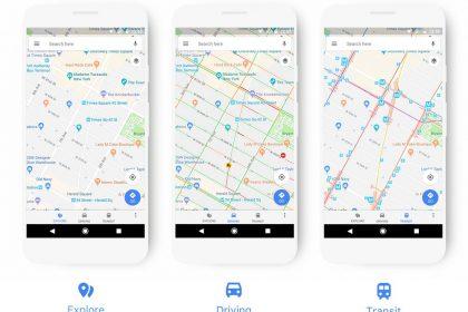 google maps อัพเดต
