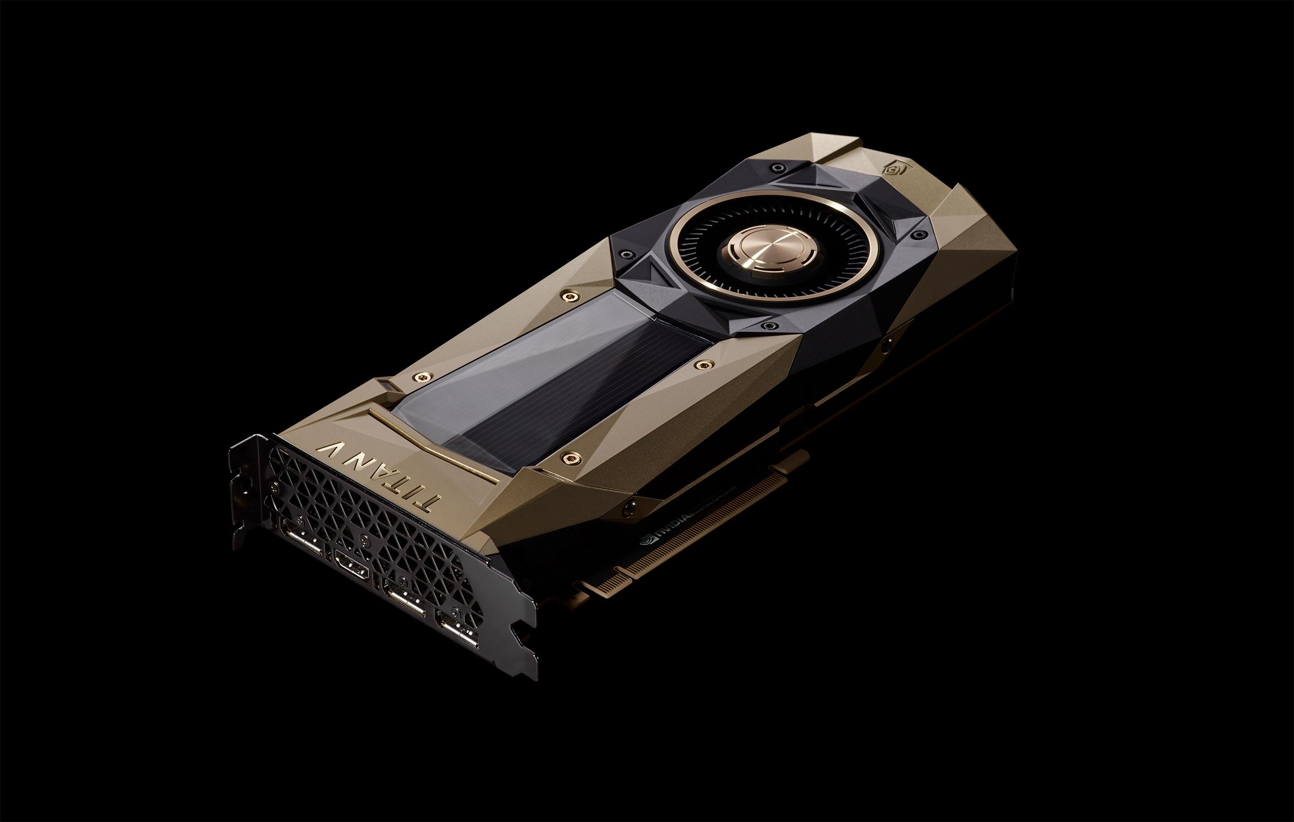 NVIDIA เปิดตัว Titan V