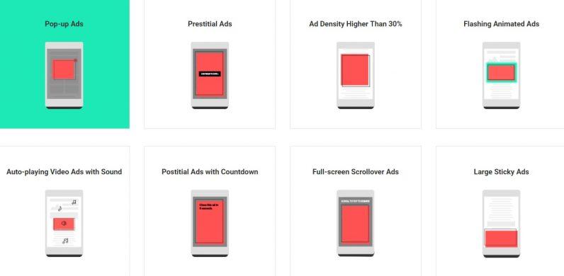 Google Chrome วางแผนบล็อกโฆษณาที่ก่อความน่ารำคาญ [Better Ads]