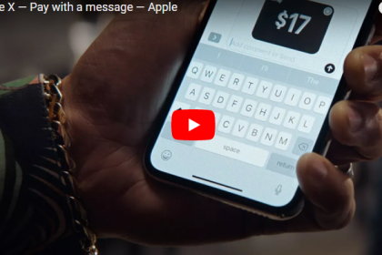 Apple ปล่อยโฆษณาใหม่สำหรับ Apple Pay Cash ด้วย iPhone X [ชมคลิป]