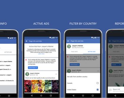 Facebook เปิดให้ดูโฆษณาของเพจอื่น ที่กำลังเผยแพร่อยู่ได้แล้วนะ!!