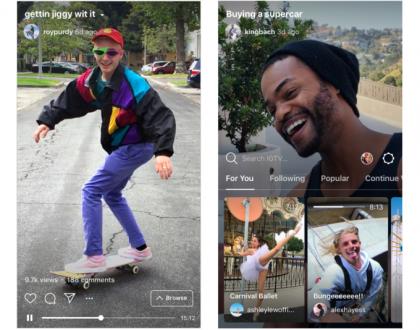 Instagram เปิดตัว IGTV ใหม่! อัปโหลดวิดีโอแนวตั้งได้นานยิ่งขึ้น