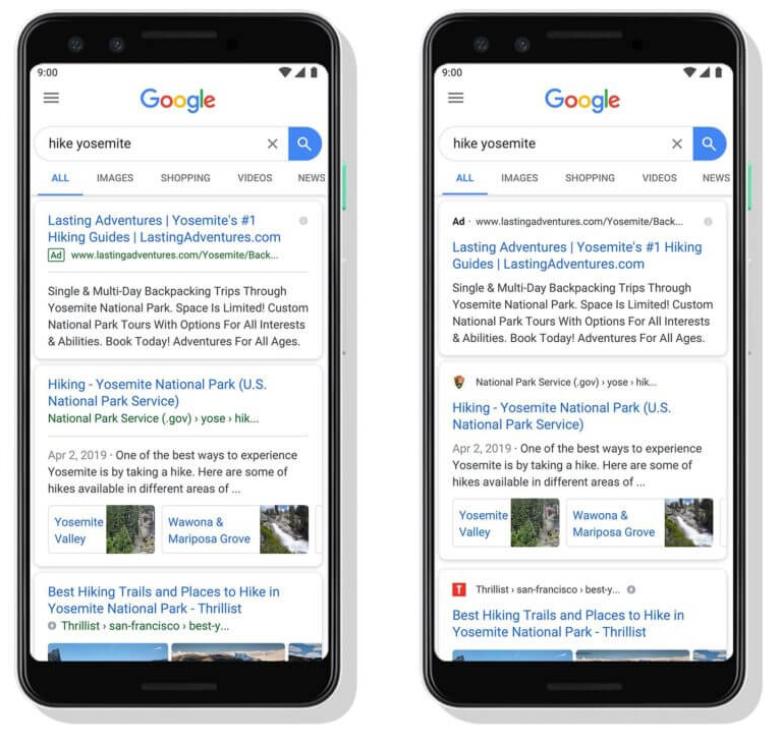 Google Search ปรับ
