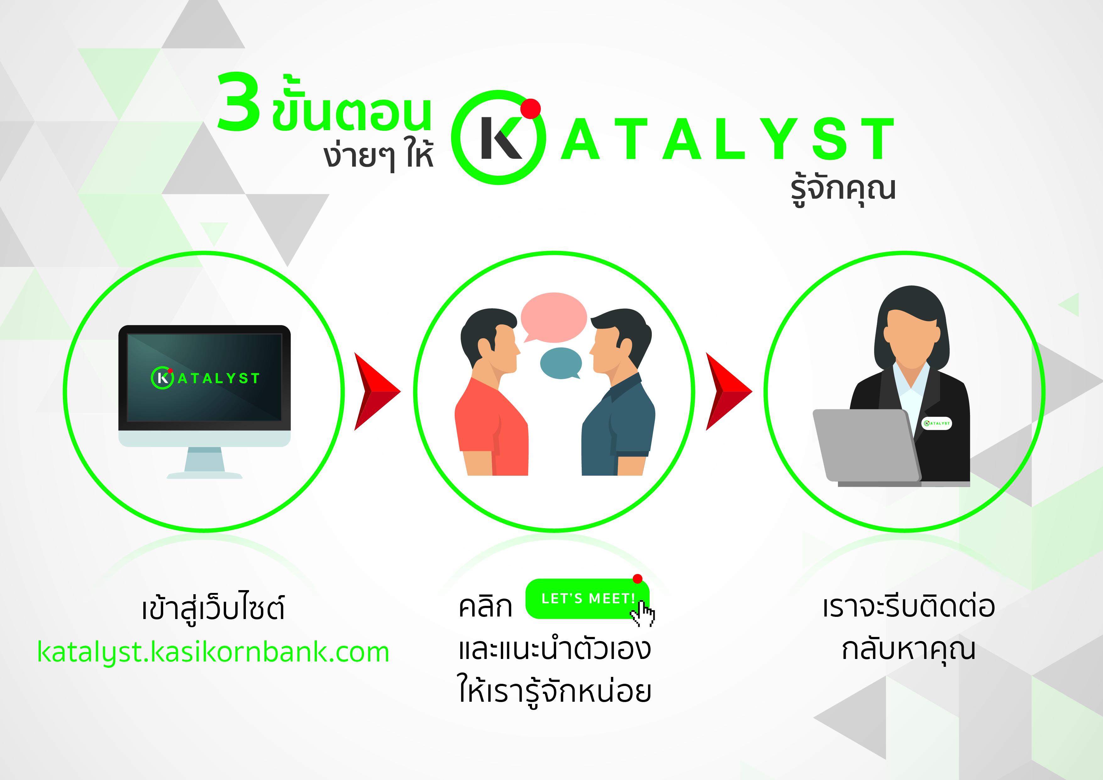 KATALYST โครงการจากกสิกรไทย