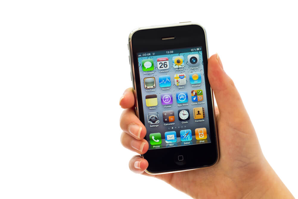 iPhone เครื่องแรก