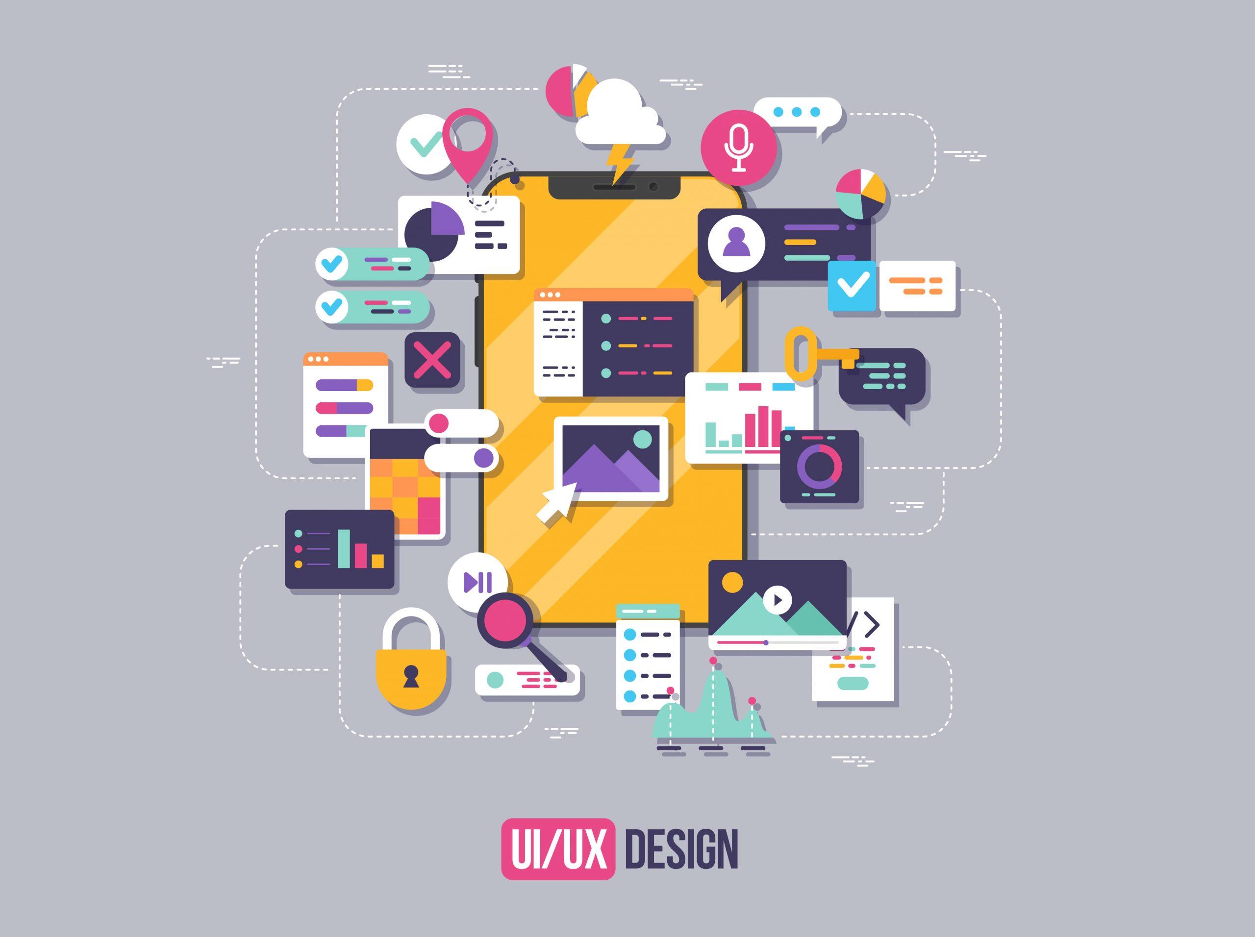 ออกแบบ UI