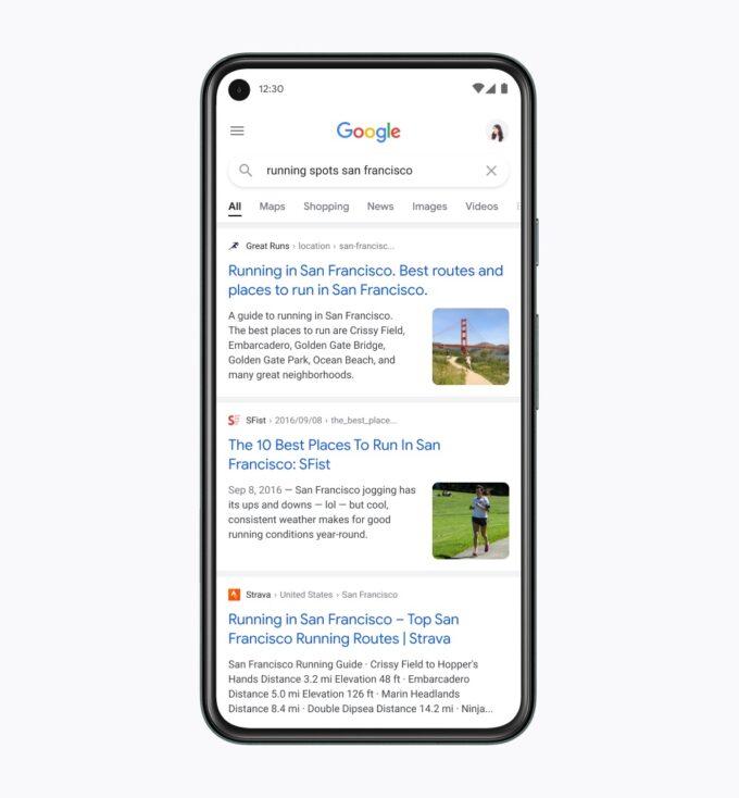 Google อัปเดตดีไซน์